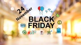 Black Friday Listopad 24 zdjęcie stock