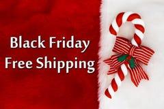Black Friday livra o transporte Fotografia de Stock Royalty Free
