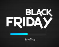 Black Friday loading background Stock Image