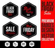 Black Friday Logo Badge Emblem Fotografia Stock Libera da Diritti
