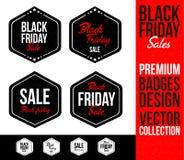 Black Friday Logo Badge Emblem Royalty Free Stock Photo