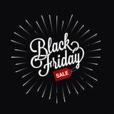 Black friday logo star burst design background. 10 eps Royalty Free Stock Image