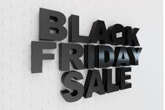 Black Friday, mensagem da venda para a loja Bandeira de compra da loja do negócio para Black Friday Black Friday que esmaga a ter ilustração stock