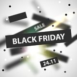 Black Friday modern abstract background. Sale banner. Vector illustration vector illustration