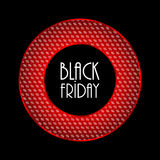 Black friday modern background Stock Images