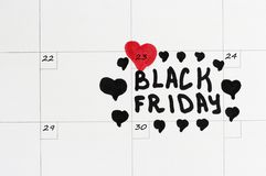 Black Friday, 23 November, 2018 royalty-vrije stock afbeeldingen