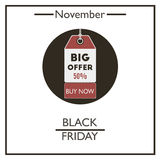 Black Friday. November Stock Photography
