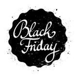 Black Friday pieczątki wektor Zdjęcia Royalty Free