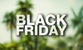 Black Friday plakat Obrazy Royalty Free
