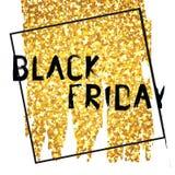 Black Friday plakat Fotografia Royalty Free