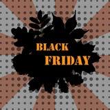 Black friday pop art banner Royalty Free Stock Images