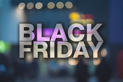 Black friday poster. Royalty Free Stock Photo