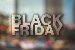 Black friday poster. Royalty Free Stock Photos