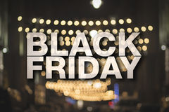 Black friday poster. Stock Photos