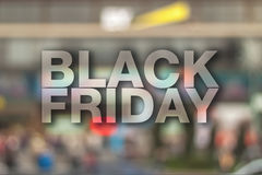 Black friday poster. Stock Images