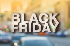 Black friday poster. Royalty Free Stock Images