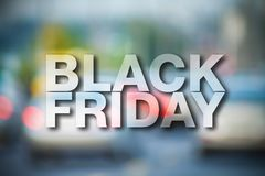 Black friday poster royalty free stock photo