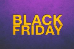 Black friday poster royalty free stock image