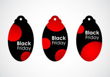 Black friday price tags Stock Images