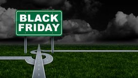Black Friday Promoting Profit Royalty Free Stock Images