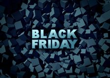 Black Friday Promotion Sign Stock Images