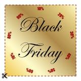 Black Friday rabatt- och försäljningsvektor vektor illustrationer