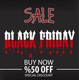 Black Friday reklambladmall, broschyr, Eps-mapp Royaltyfri Foto