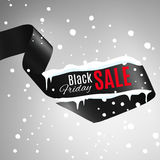 Black Friday Ribbon Royalty Free Stock Photos