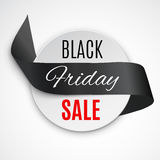 Black Friday Ribbon Royalty Free Stock Image