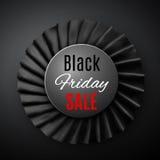 Black friday ribbon Royalty Free Stock Images