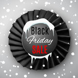 Black friday ribbon Stock Photography
