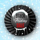 Black friday ribbon Royalty Free Stock Photos
