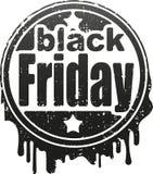 Black friday rubber stamp. Black friday grunge rubber stamp Stock Images