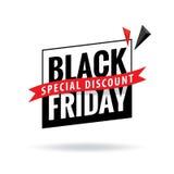 Black Friday Sale överskriftdesign för baner eller affisch Sale och Arkivbild