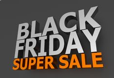 Black Friday Sale Stock Image
