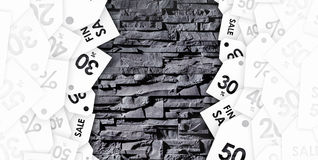 Black Friday sale on abstract background stock images