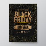 Black Friday Sale Abstract Background. Vector flyer with trend design.vector illustration. Eps 10 royalty free illustration