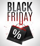 Black Friday Sale Announcement Stock Photo
