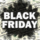 Black Friday sale back drop shadow stock photo