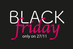 Black Friday Sale. Royalty Free Stock Photo