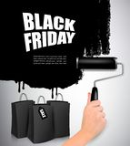 Black Friday sale background. stock photos