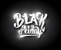Black Friday sale background with bokeh Royalty Free Stock Photography