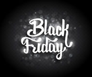 Black Friday sale background with bokeh Stock Photography