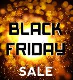 Black friday sale background explosion Stock Images