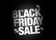 Black Friday Sale Background. Background festive illustration Stock Photography