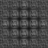 Black Friday sale background graphic icon design image Royalty Free Stock Images