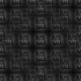 Black Friday sale background. Graphic tiled Stock Image