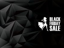 Black friday sale background. Holiday sales Stock Photos