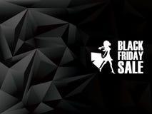 Black friday sale background. Holiday sales stock illustration