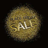 Black friday sale background Royalty Free Stock Images